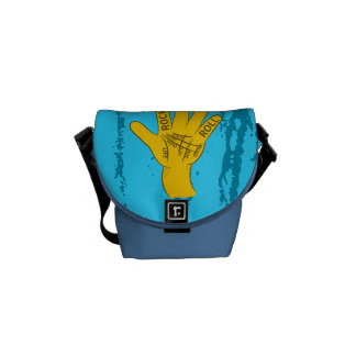 Palmistry Rock and Roll Courier Bag