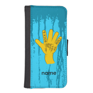 Palmistry Rock and Roll iPhone 5 Wallet