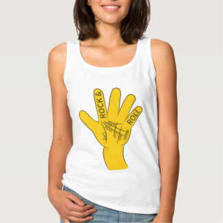 Palmistry Rock and Roll Tank Top