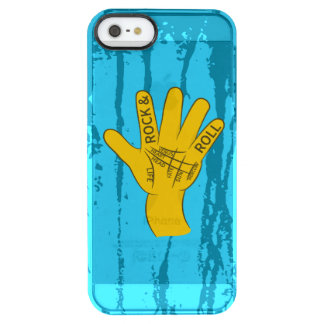 Palmistry Rock and Roll Uncommon Clearly™ Deflector iPhone 5 Case