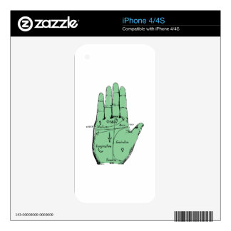 Palmistry Skin For The iPhone 4