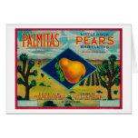 Palmitas Pear Crate LabelAntelope Valley, CA