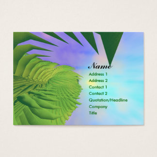 Palms Above - Chubby Business Card