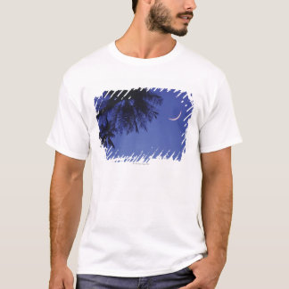 Palms and Crescent Moon T-Shirt
