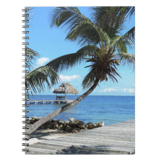 Palms and Pier Notebook