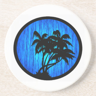 PALMS BY MOONLIGHT COASTERS