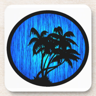 PALMS BY MOONLIGHT DRINK COASTERS