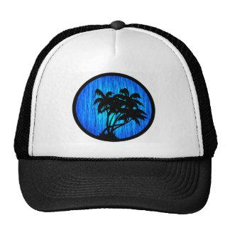 PALMS BY MOONLIGHT MESH HAT