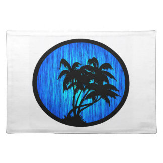 PALMS BY MOONLIGHT PLACE MATS