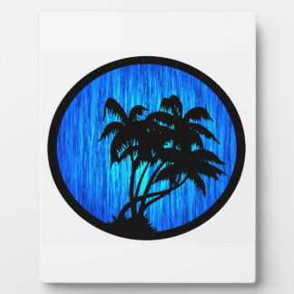PALMS BY MOONLIGHT DISPLAY PLAQUES