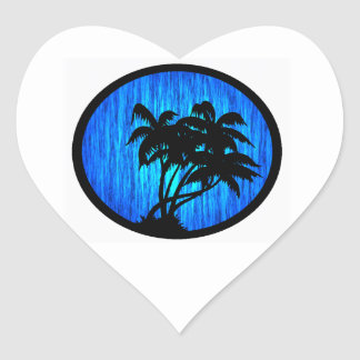 PALMS BY MOONLIGHT STICKERS
