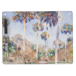 Palms - Dry Erase Board with Key Rings