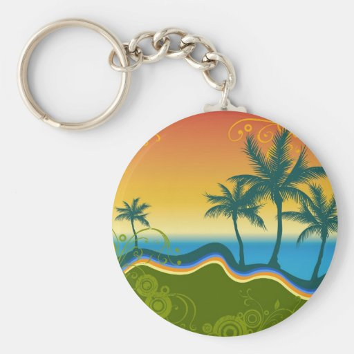 Palms Key Chain