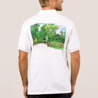 Palms & Landscape  - Miami Beach, FL collection Polo T-shirt