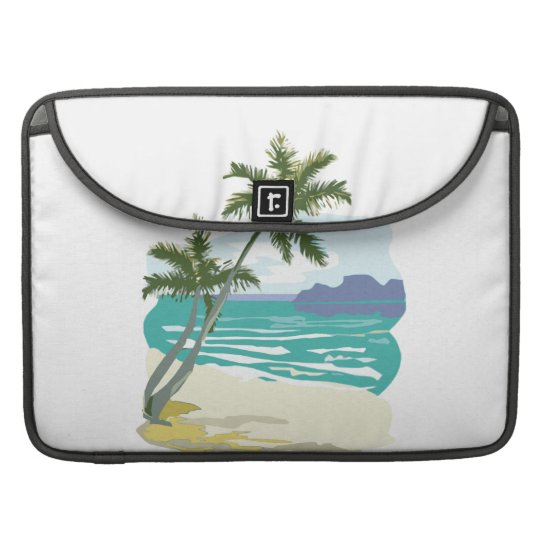 Palms, Ocean & Mountains MacBook Pro Sleeve