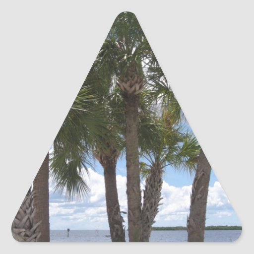 Palms On The Beach Stickers