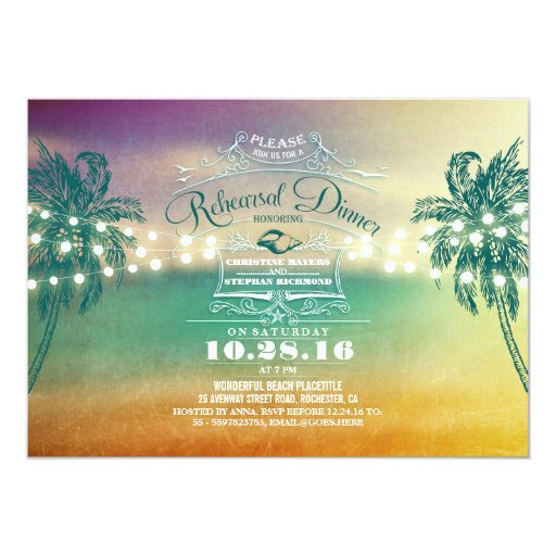 Rehearsal And Rehearsal Dinner Invitations as luxury invitation sample