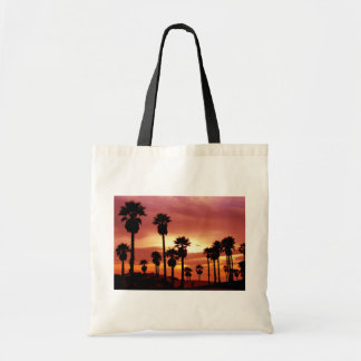 Palms Trees at Sunset Tote