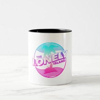 Palms Two-Tone Coffee Mug