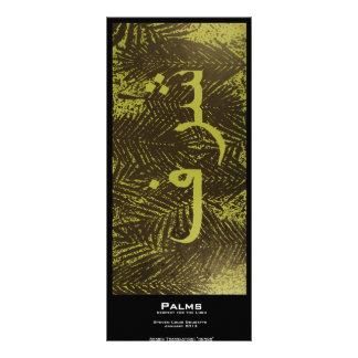 """Palms"" Value Bookmarks Rack Card"