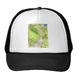 Palmtree Lane Trucker Hat