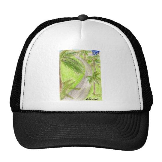 Palmtree Lane Trucker Hat