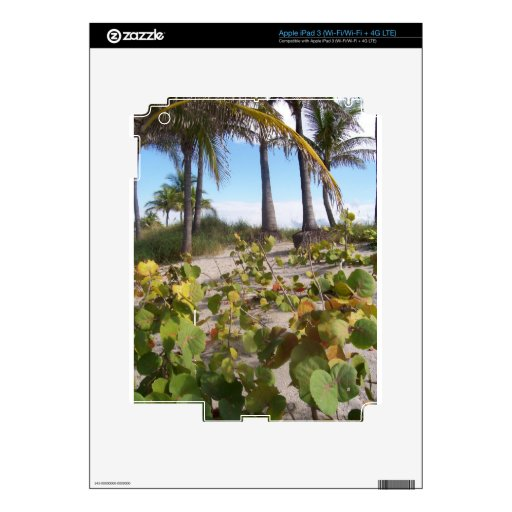 Palmtree Pegatinas Skins Para iPad 3
