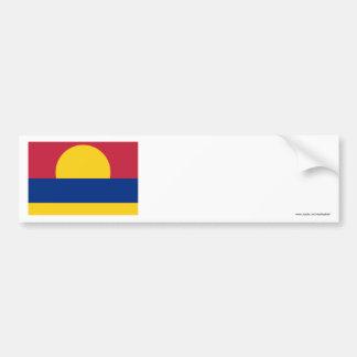 Palmyra Atoll Flag Bumper Sticker