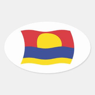 Palmyra Atoll Flag Sticker