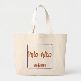 Palo Alto California BlueBox Bolsa De Tela Grande