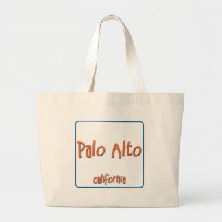 Palo Alto California BlueBox Large Tote Bag