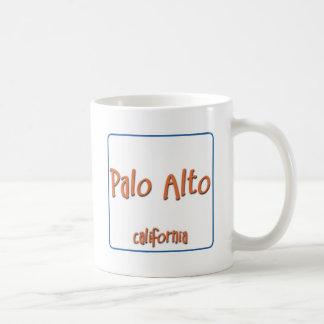 Palo Alto California BlueBox Taza Clásica