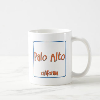Palo Alto California BlueBox Taza De Café