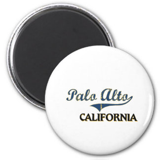 Palo Alto California City Classic Fridge Magnets