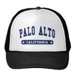 Palo Alto California College Style tee shirts Trucker Hats