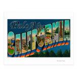 Palo Alto, California - Large Letter Scenes Post Cards