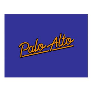 Palo Alto in orange Postcard