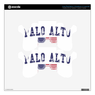 Palo Alto US Flag Skin For PS3 Controller