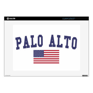 "Palo Alto US Flag Skins For 15"" Laptops"