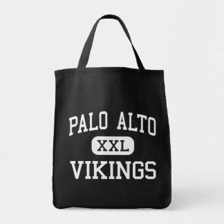 Palo Alto - Vikings - High - Palo Alto California Canvas Bags