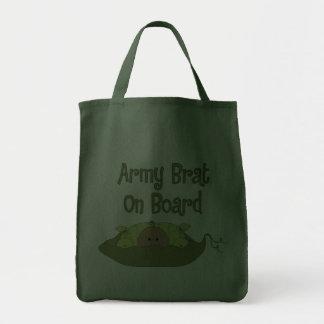 Palo de golf del ejército a bordo (hispanico) bolsa tela para la compra