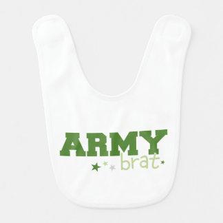 Palo de golf del ejército baberos para bebé