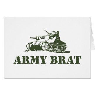 Palo de golf del ejército felicitacion
