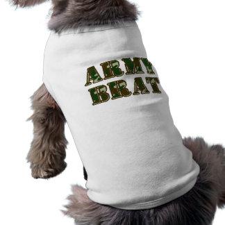 Palo de golf del ejército ropa para mascota