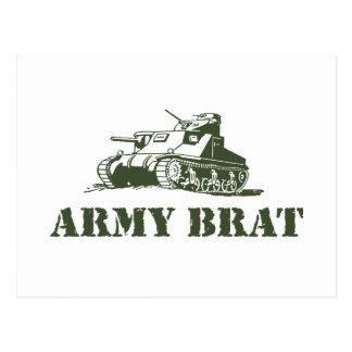 Palo de golf del ejército tarjeta postal