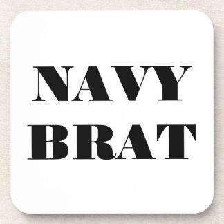 Palo de golf determinado de la marina de guerra de posavaso