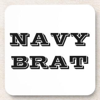 Palo de golf determinado de la marina de guerra de posavasos de bebidas