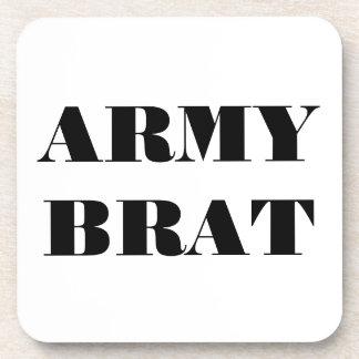 Palo de golf determinado del ejército del práctico posavasos de bebida