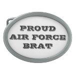 Palo de golf orgulloso de la fuerza aérea de la he hebillas de cinturon
