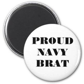 Palo de golf orgulloso de la marina de guerra del imán redondo 5 cm